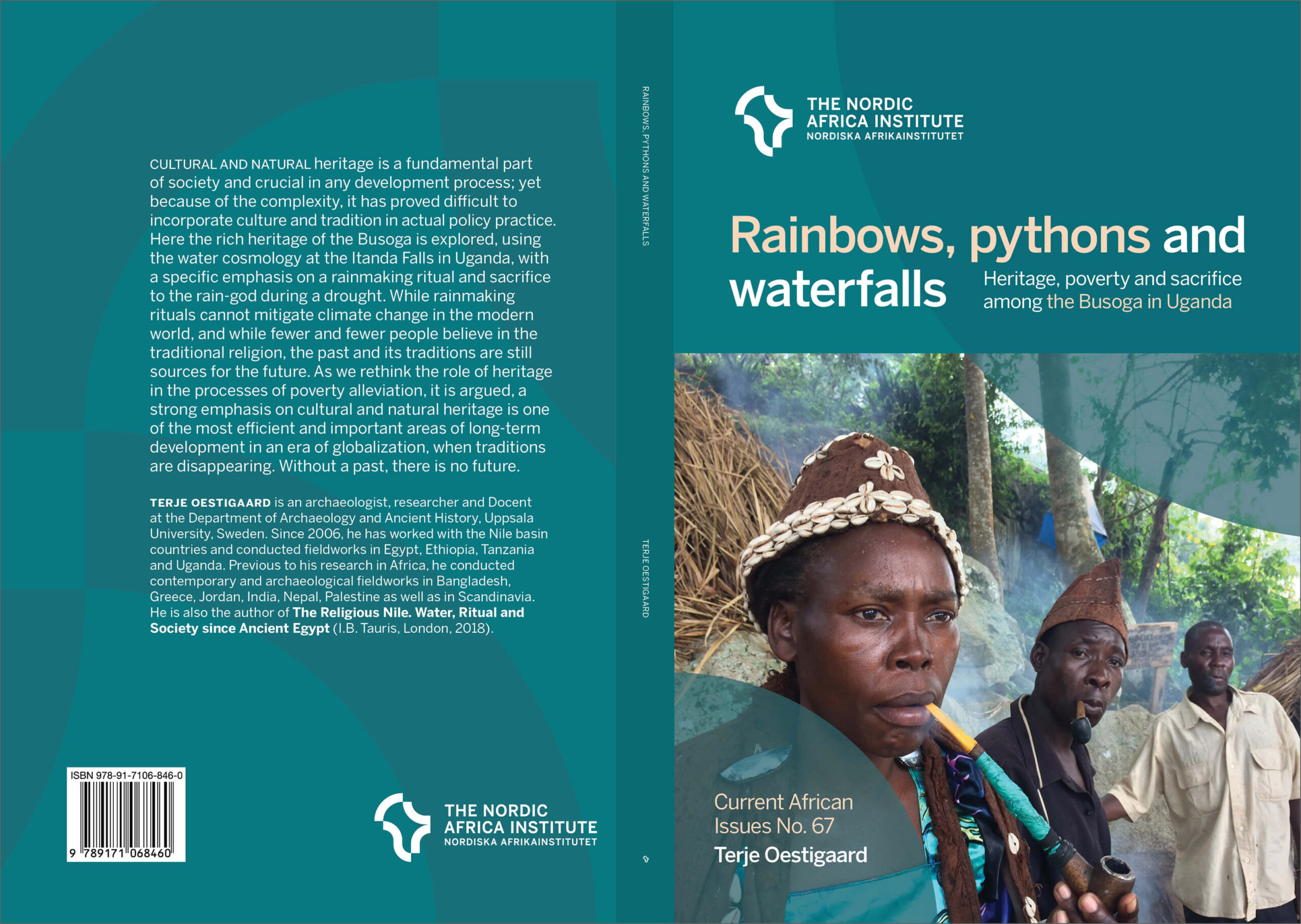 Rainbows, pythons and waterfalls, bok
