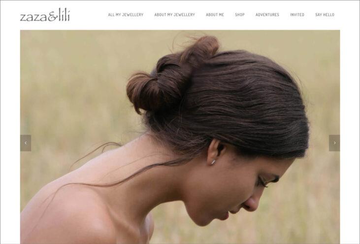 zaza-lili.com, webbdesign