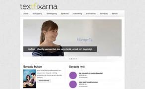 Webbplats för Textfixarna