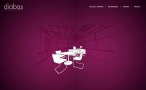 Webbplats för Diabas Arkitekter