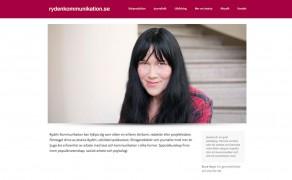 Webbplats för Rydén Kommunikation