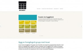 Webbplats för Husetgrupp