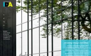 Webbplats för Arkitektstudio IDA